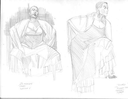 Drink-and-Draw-10-and-20-min.-poses by NStevenHarris
