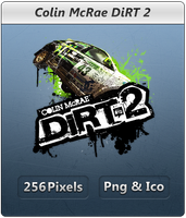 Colin McRae DiRT 2 - Icon by Crussong