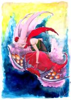 The Butterfly by Lapin-de-Fou