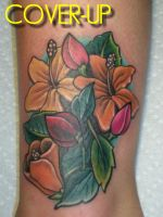 FLOWERS COVERUP by amduhan