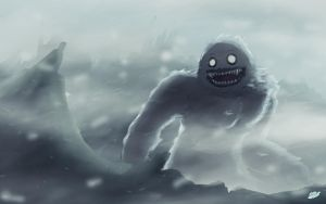 Abominable Snowman by Twisted4000