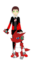 Me as a Digimon Tamer! (Updated) by BionicleSangheili86