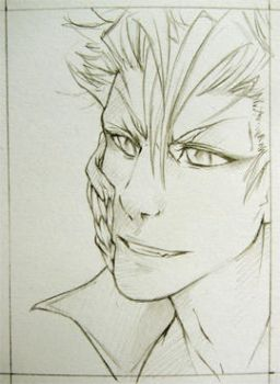 Grimmjow WIP by Zeolith