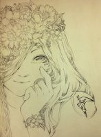 [1/6] Girl and Flower (1) by Book-No00