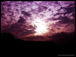 Evening Sky by entangle