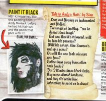 Kerrang - Andy Biersack by Mythokell