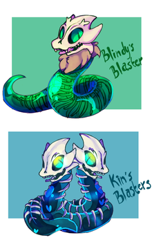 Baby Blasters by Bunnymuse