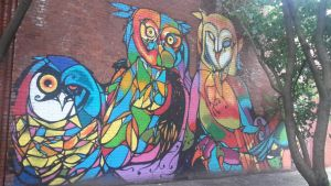 The Wall Owls of DUMBO 9 by LordNobleheart