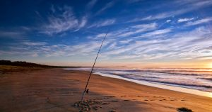 Broulee Beach Fishing by FireflyPhotosAust