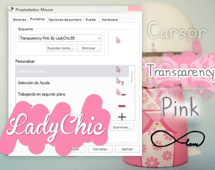 Transparency Pink by LadyChic99