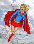 Supergirl Flying High by powerbook125