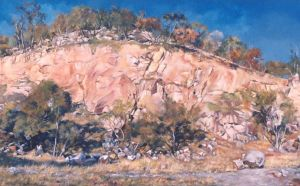 The Old Quarry - PAINTING by AstridBruning