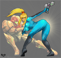 Zero Suit Samus My Weapon by ANALU-TLOA