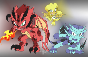 .:Team Dragon:. by Crystalhedgie