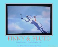 Finny x Pluto Poster Four by AnnieSmith