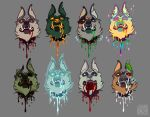 Ugly Dog Floating Heads by Fedini