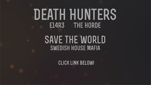 DH: [E14R3] Team Horde: Save the World by kolo-dragon
