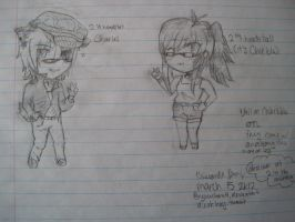 Charles and Chie Chibis! by Ryuuchan4