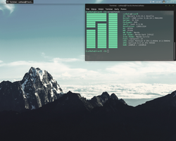 Arch Linux (Manjaro) by DeExterR