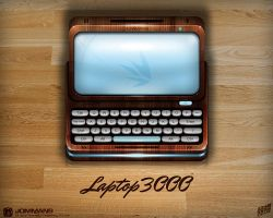 Laptop3000 icon by JOMMANS