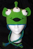 Toy Story Alien Beanie by rainbowdreamfactory