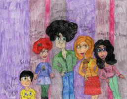 Fulley Family 2014 by Toongrrl