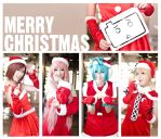Vocaloid Christmas by hoojv