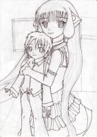 Chii and little me by fantasywar2