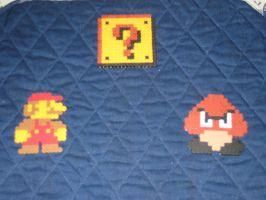 Mario Trio Beads by vaporsnake7