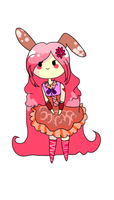 ADVENTURE  TIME BUNNY QUEEN ADOPT by BubbleChii