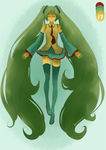 Palette Switch Miku by theSuzucorn