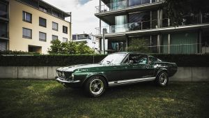 Green 67 Fastback by AmericanMuscle