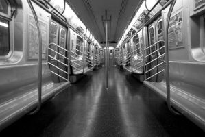 NYC Series - Empty Cars 1 by Katastrophey