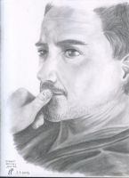 Robert Downey Junior by SonnEngel