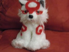 Okami Plush by Skeligirl888