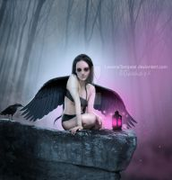 Dark Angel of Light by LevanaTempest