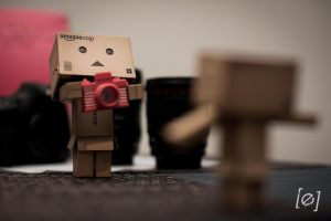 Danbo the Photographer! by eckyreyes