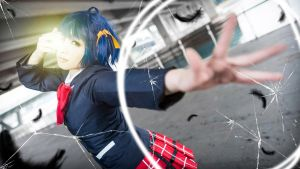 Rikka Takanashi : Banishment! This! World! by thebakasaru