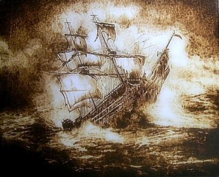 The end - my pyrography by Matthiola222