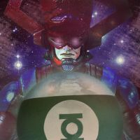 Galactus vs Mogo by genetic-freak