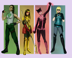 Girls of Prey by HellyKitten