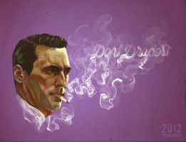 Don Draper by tashiturn