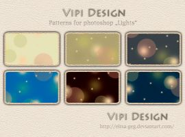 Patterns for photoshop - Lights by elixa-geg