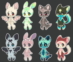 Little Anthros 1 [OPEN] [LOWERED PRICE] by XAngelFeatherX