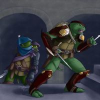 Rp picture - Leo and Raph by ralloonx