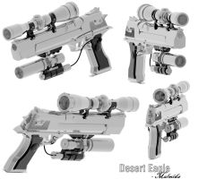 Desert Eagle 2 by malmida