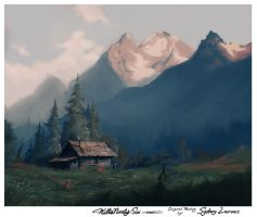 Landscape/Painting Study: Sydney Laurence by WillisNinety-Six