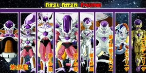 Frieza/Freezer Evolutions by gonzalossj3