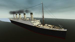 RMS Titanic by enterprisedavid