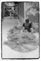 Mending Nets by KateStehr